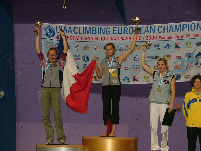 Female podium (enlarge)